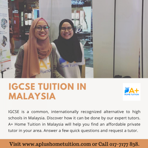 IGCSE is a common, internationally recognized alternative to high schools in Malaysia. Discover how it can be done by our expert tutors.  Visit www.aplushometuition.com or Call 017-7177 838.
