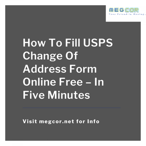 Quickly fill United States Postal Service change address form for free on the official site without going to post office, get the detailed step by step process and other important tips and save your time and money.