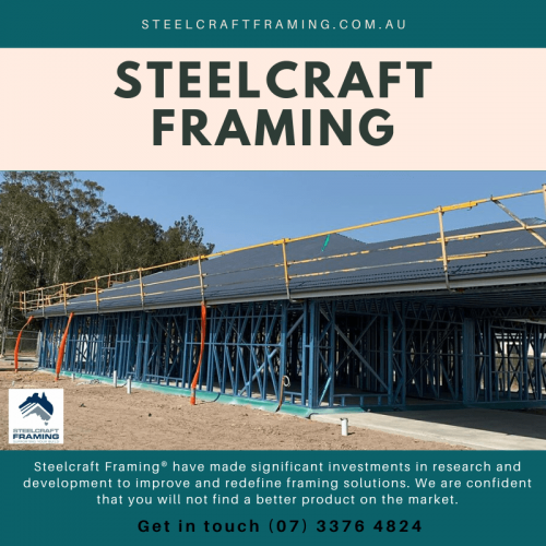 Steelcraft Framing® is Australia's largest manufacturer of Prefabricated Steel House Framing, Wall Frames, Truss, and Floor Systems & Structural Steel. Call 1300 141 151.
