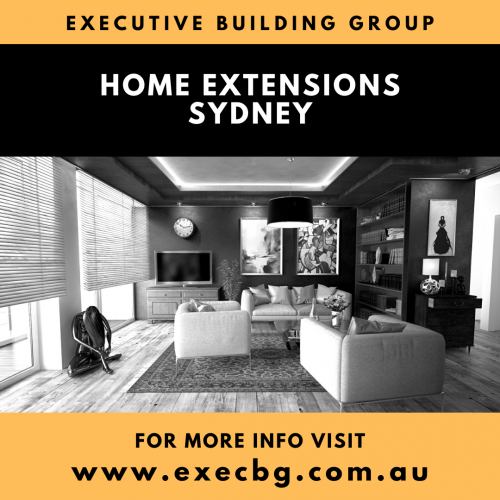 Want a team of reliable and cost-effective experts for your Sydney extensions? The Executive Building Group simplifies your home improvement journey with an extensive process to optimise the experience behind every project. Visit https://www.execbg.com.au/home-extensions-sydney/ for more info.